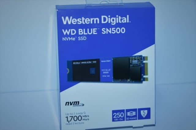 低発熱でそこそこ高速!WD Blue SN500をレビュー