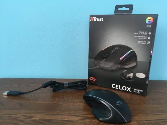 Trust Gaming GXT 165 CELOXをレビュー 廉価帯ながら扱いやすいマウス