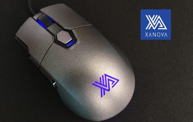 XANOVA MENSA PRO コンパクトで高性能なゲーミングマウス