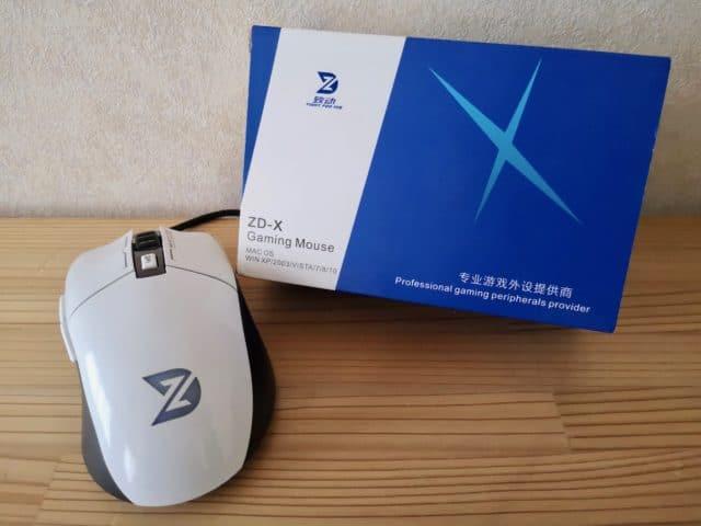 650円のゲーミングマウスは本当に使えるのかZD-Xレビュー