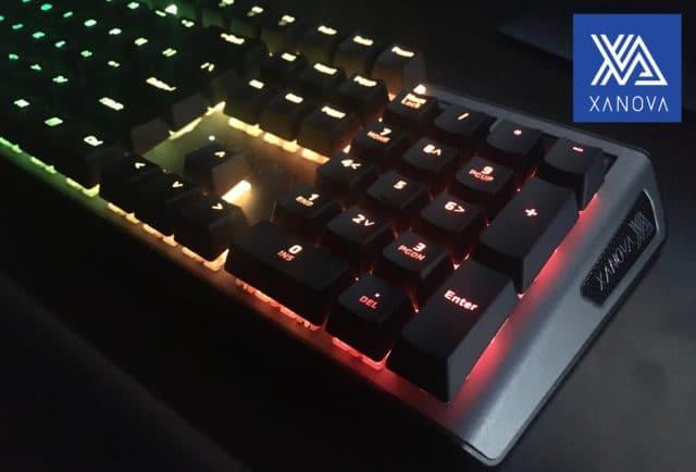 XANOVA MAGNETAR RGB-高級感あふれるゲーミングキーボード