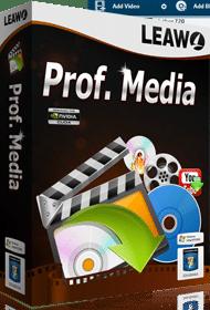 多機能なBD/DVDコピーソフト Leawo Prof. Media